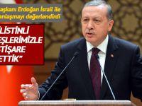 """Cumhurbaşkanı Erdoğan; """"Filistinli kardeşlerimizle istişare ettik!"""""""
