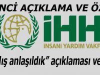 İHH'dan 'yanlış anlaşıldık' açıklaması ve özür