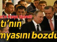 Erdoğan-Putin yakınlaşması Batı'nın kimyasını bozdu!