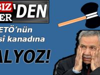 """FETÖ'cü Bülent Arınç'a """"Balyoz!"""""""