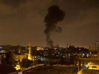 İsrail'den Gazze'ye 70 füzeyle hava saldırısı