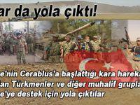 Türkiye'ye destek için onlar da yola çıktı!