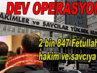 HSYK'da dev FETÖ operasyonu; 2 bin 847 hakim ve savcı meslekten ihraç edildi