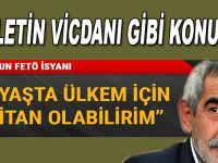 """Turgay Tanülkü Milletin vicdanını seslendirdi! """"Ülkem için, 64 yaşında militan olabilirim!"""""""