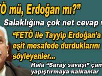 """Perinçek, """"FETÖ mü Erdoğan mı"""" salaklığına gömülen kafası karışıklara çok net cevaplar verdi!"""