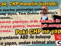 CHP ihaneti bu kadar kısa ve öz anlatılamazdı!