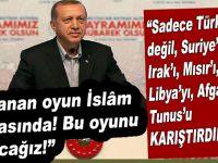 """Cumhurbaşkanı Erdoğan; """"Oynanan oyun büyük! Bu oyunu bozacağız!"""""""