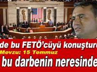 ABD Kongresi'nde Türkiye karşıtı oturum; FETÖ'cüyü konuşturdular!