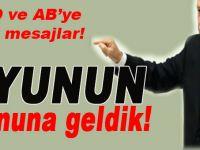 """Cumhurbaşkanı Erdoğan Meclis'in açlışında konuştu; """"Oyunun sonuna geldik!"""""""