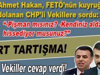 Ahmet Hakan ile CHP'li vekillerin FETÖ kavgası; fena kapıştılar!