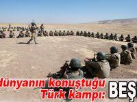 İşte dünyanın gündemindeki olan Beşika'daki Türk kampı!