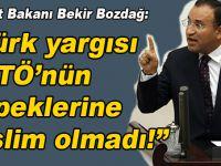 """Adalet Bakanı Bozdağ; """"Türk yargısı FETÖ'nün köpeklerine teslim olmadı!"""""""