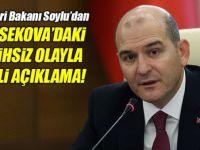 İçişleri Bakanı Soylu'dan Yüksekova açıklaması!