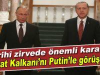 """Cumhurbaşkanı Erdoğan; """"Fırat Kalkanı'nı Putin'le görüştük!"""""""