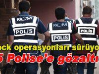 ByLock operasyonları sürüyor; 125 polise daha gözaltı!