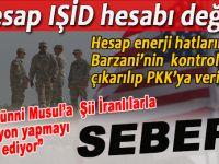 Musul üzerine dönen dolapların aslı; Hesap IŞİD hesabı değil!