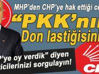 """MHP'den CHP'nin bayağı hakaretlerine hak ettiği karşılık geldi; """"PKK'nın don lastiğisiniz!"""""""