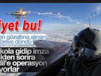 FETÖ'den gözaltına alınan 9 pilot görevlerine döndü