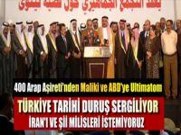 400 Arap Aşiret'ten Türkiye'ye Açık Musul Daveti