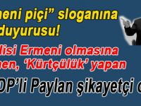 HDP'li Paylan'dan 'Ermeni piçi' sloganına suç duyurusu