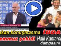 Başbakan Binali Yıldırım, İbda'nın 15 Temmuz şehidi Halil Kantarcı'yı anlattı!