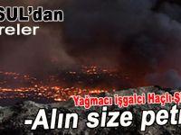 Musul'dan işgalcilere; Alın size petrol!