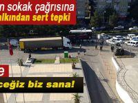 Diyarbakır'da HDP'nin toplanın çağrısına aldıran olmadı!