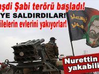Şii terörü başladı; Camiye saldırdılar, sünni ailelerin evlerini yakıyorlar!