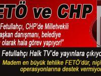 """FETÖ ve CHP; Halk TV, birkaç gündür, canhıraş """"FETÖ"""" haberleri yapıyor..."""