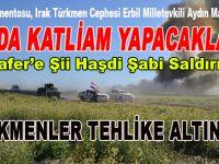 "IKBY Erbil Milletvekili Maruf; ""Türkmen kenti Telafer'de katliam yapacaklar!"""