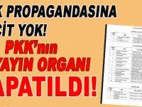 PKK'nın 15 yayın organı kapatıldı!
