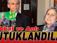 Diyarbakır Belediyesi Eş Başkanı Fırat Anlı ve eski HDP'li vekil Akat tutuklandı!