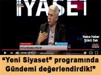 """Nabız Haber Genel Yayın Yönetmeni Şükrü Sak """"Yeni Siyaset"""" Programında Ufuk Coşkun ve Ekin Gün'ün konuğuydu!"""