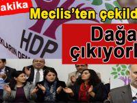 """Son dakika; HDP Meclis'ten çekildi! """"Kandil'e kadar yolunuz var!"""""""