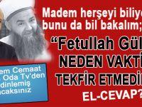 """Cübbeli'ye zor soru; """"Fetullah Gülen'i neden vaktiyle tekfir etmediniz"""""""