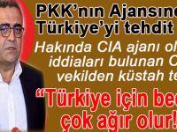 CHP'li Tanrıkulu, PKK ağzıyla Türkiye'yi tehdit etti!