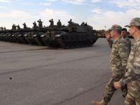 Genel Kurmay Başkanı Orgeneral Akar sınırdaki birlikleri denetledi