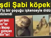 Ordu üniformalı Haşdi Şabi köpeklerinin Sünni çocuklara işkence yaptığına dair yeni görüntüler yayınlandı.