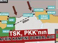 Türk Silahlı Kuvvetleri YPG'yi vuruyor!