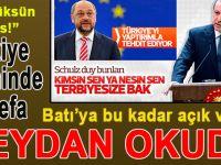 """Türkiye tarihinde ilk defa """"Batı""""ya bu kadar açık ve net meydan okudu!"""