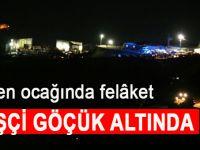 Siirt'te maden ocağında heyelan; 13 işçi göçük altında!
