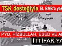 Fırat Kalkanı, Suriye'de sahnelenen oyunu açığa çıkardı!