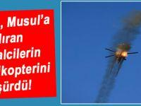 Musul'a saldıran işgalcilerin helikopteri düşürüldü!