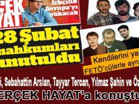Devrim içerdeki çocuklarını unuttu; 28 Şubat mağdurları FETÖ'cü vatan hainleri ile yan hücrelerde kalıyor!