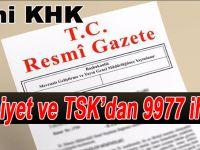 Yeni KHK: Emniyet ve TSK'da 9977 personele ihraç!