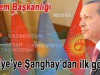 Türkiye'ye Şanghay'da ilk görev