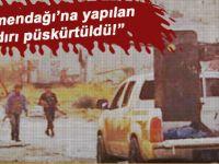 Türkmendağı'na yapılan saldırı püskürtüldü