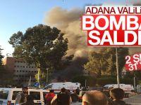 Adana Valiliğine bombalı araçla saldırı; 2 Şehid, 31 yaralı!