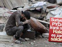Halep'e dört koldan saldırıyorlar!