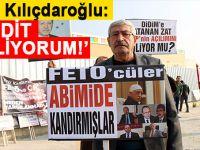 FETÖ ile mücadele yürüyüşüne katılan Kılıçdaroğlu'na tehdit